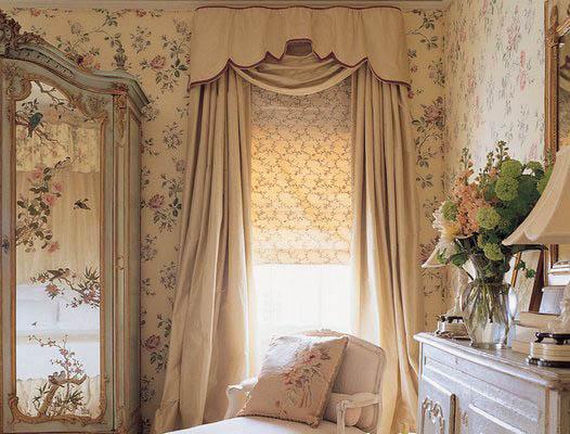 шторы в прованском стиле фото