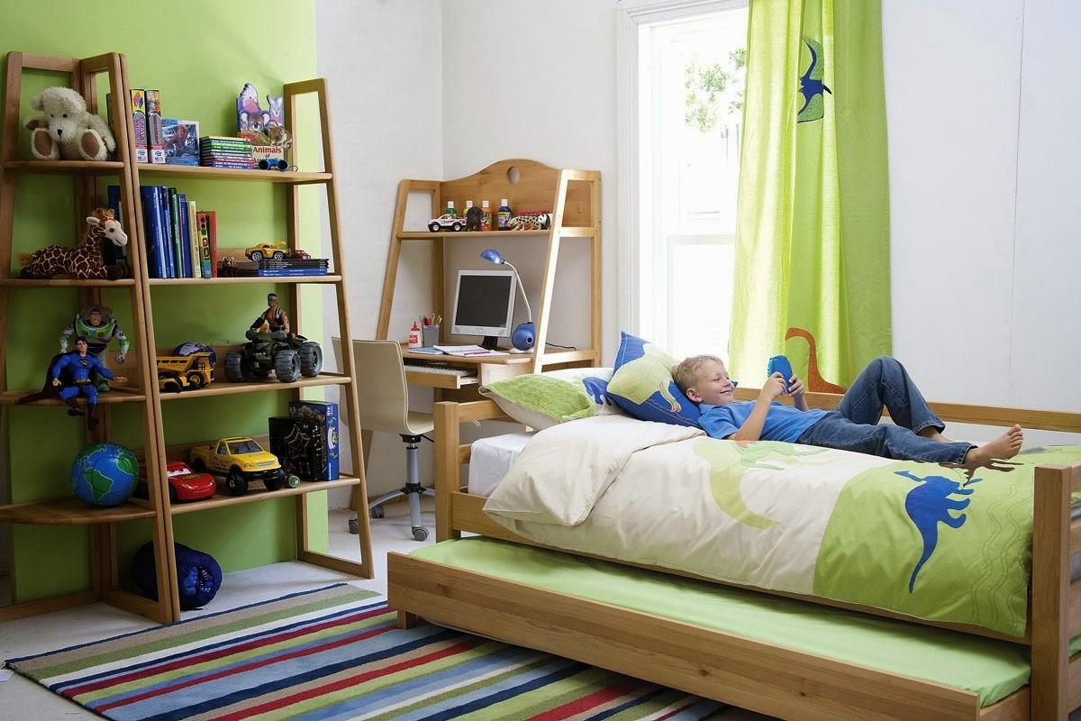 Маленькая детская комната для мальчика своими руками