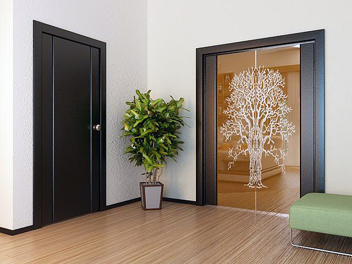 двери входные черного цвета в квартиру